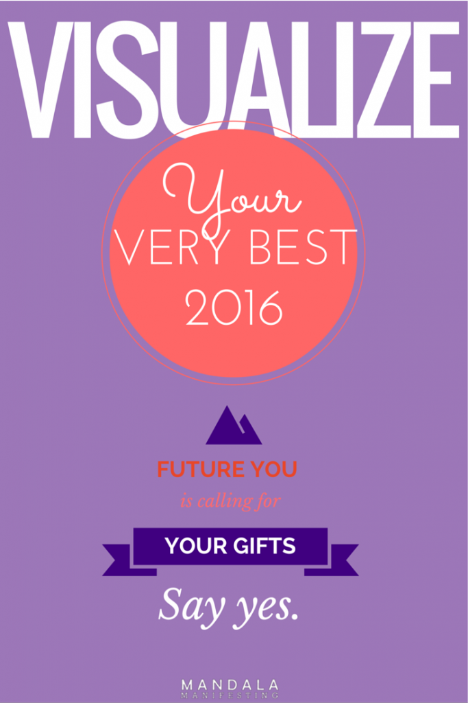 Mandala Manifesting, Visualize Your Best Year Ever