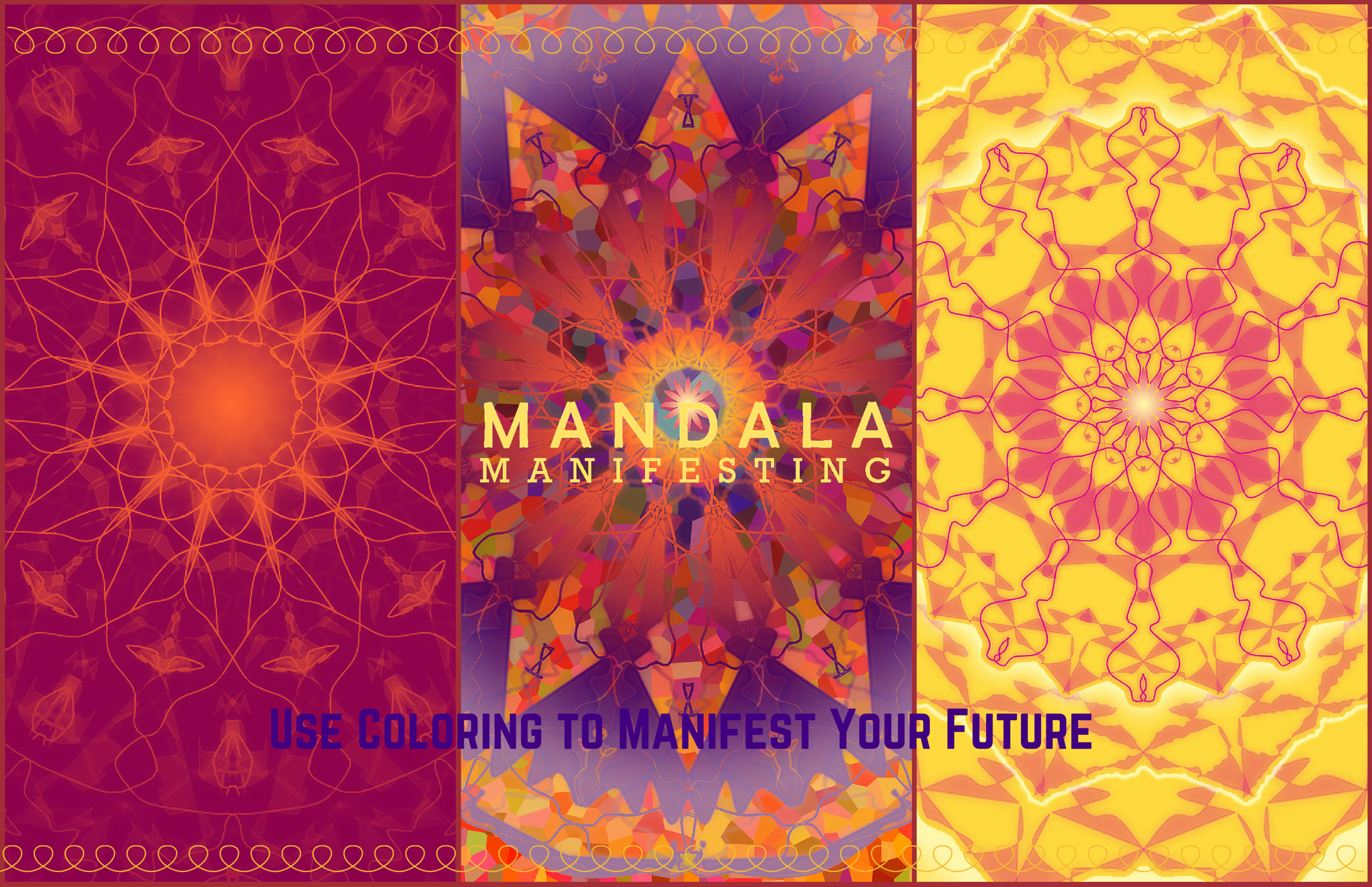GETTING A SECOND CHANCE AT HAPPINESS Inspiration for returning to the living after having suffered any type of loss can be a challenge. Everyone wants you to be happy. But what does that mean now that you have been through hell? Manifesting Mandala is for more than just picking up the pieces. It is for designing a life that fulfills you.